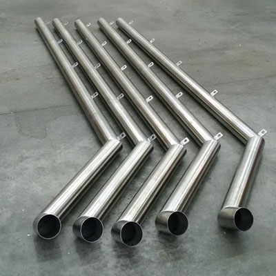 Custom Stainless Steel Down Pipes With 3D Off Sets