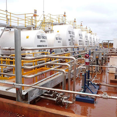 Tank Farm Bulk Fuel Storage