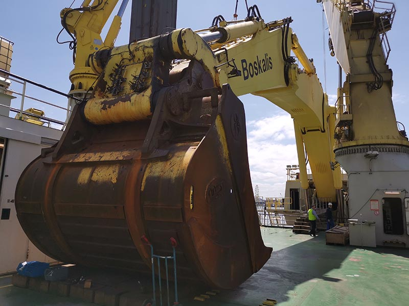 Boskalis: Behind the largest backhoe dredger in the world – Magnor